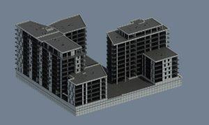 Pünkösdfürdő Street Complex - residental building