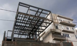 Residential house, Brazil - steel, concrete structure