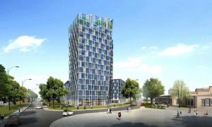 Smart Green Tower - concrete structure