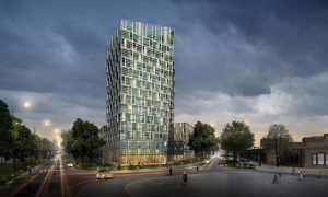 Smart Green Tower - vasbeton szerkezet