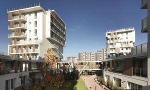 Social Housing Via Cenni - timber structure