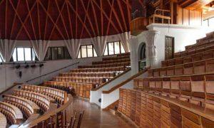Pázmány Péter Egyetem, Auditorium Maximum - faszerkezet