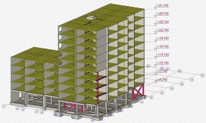 Sweco Netherlands - 3D model hotel building