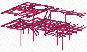 Sweco Norway - multi level steel frame