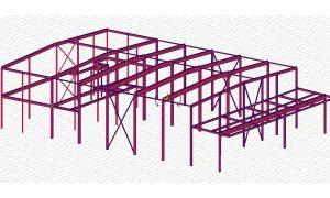 Sweco Norway - steel warehouse