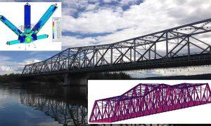 Upper Liard River híd emelése