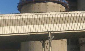 Vasbeton szerkezetű siló megerősítése - vasbeton szerkezet