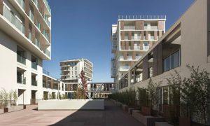 Via Cenni lakóház - faszerkezet