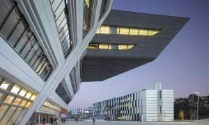 Library Building of Vienna University of Economics