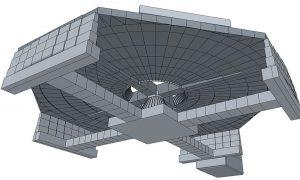 Wankdorfplatz földalatti körforgalom - vasbeton szerkezet