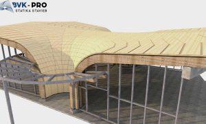 Wellness központ Aquamarin - faszerkezet