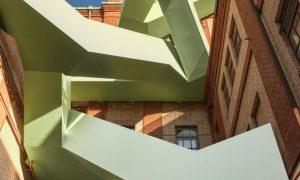 Werkraum Warteck PP stairway - reinforced concrete structure